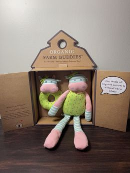 Organic Farm Buddies - Gift Set Belle Cow