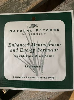 Natural Patches of Vermont - Enhanced Mental Focus & Energy