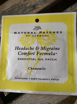 Natural Patches of Vermont - Headache & Migraine Comfort Formula