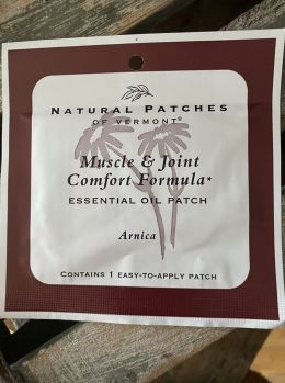 Natural Patches of Vermont - Muscle & Joint Comfort
