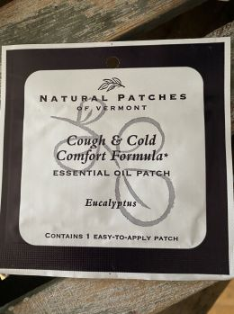 Natural Patches of Vermont - Cough & Cold  Comfort