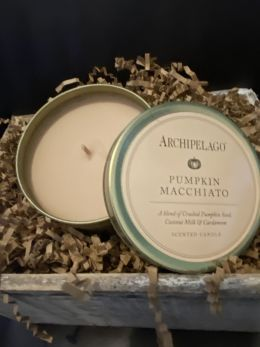 Pumpkin Macchiato Tin Candle by Archipelago