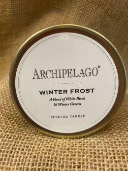 Archipelago Tin Candle - Winter Frost