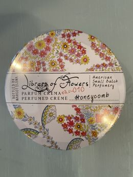 Library of Flowers - Parfum creme - Honey Comb #010