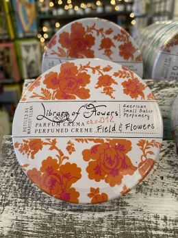 Library of Flowers - Parfum creme - Field & Flowers