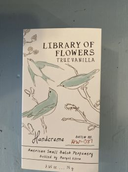 Library of Flowers - Handceme` True Vanilla