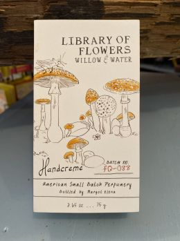 Library of Flowers Handcreme - Willow & Water
