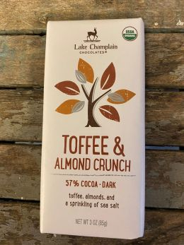 Lake Champlain VT Toffee & Almond Crunch