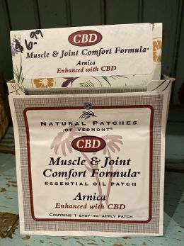 Natural Patches of Vermont - CBD Muscle & Joint Formula