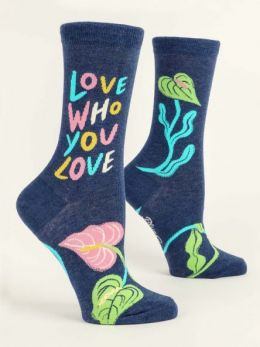 Love Who You Love - Women's Crew Socks