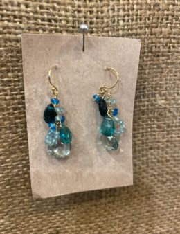 Shades of Blue Dangles