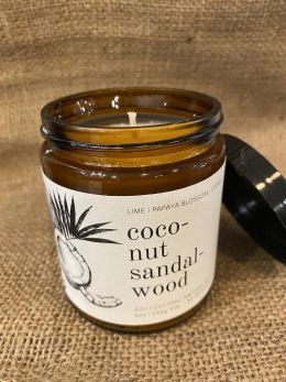 Broken Top Candle-coco-nut sandal-wood