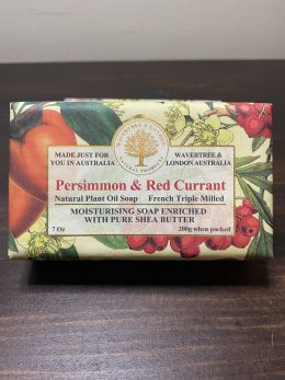 Australian Soap - Persimmon & Red Currant